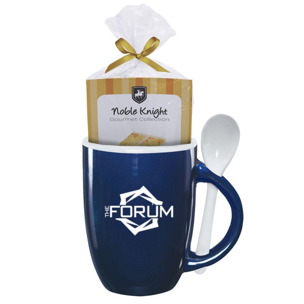 View larger image of Add Your Logo:  Let Them Eat Cake Mug Gift Set