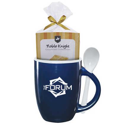 Add Your Logo:  Let Them Eat Cake Mug Gift Set