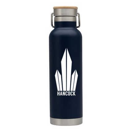Add Your Logo:  The Drake Stainless Bottle