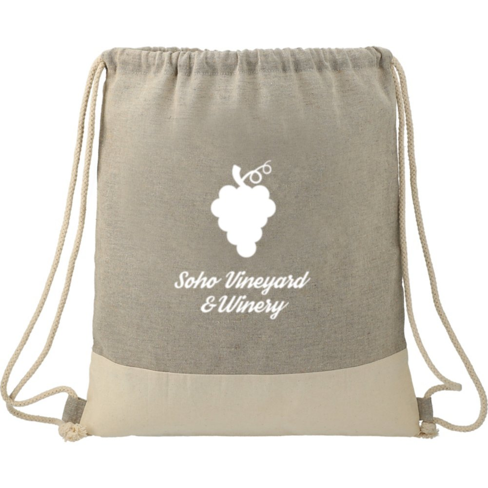 View larger image of Add Your Logo:  Recycled Drawstring Bag