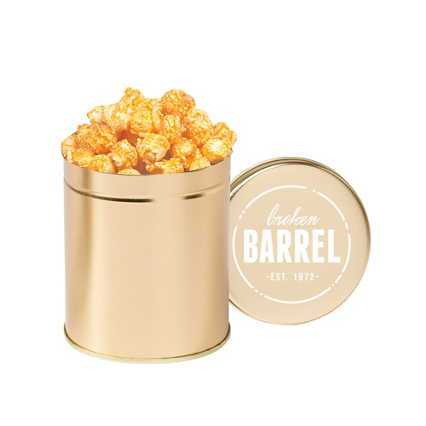 Add Your Logo:  Gourmet Popcorn Tin