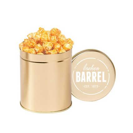 Add Your Logo:  Gourmet Popcorn Tin