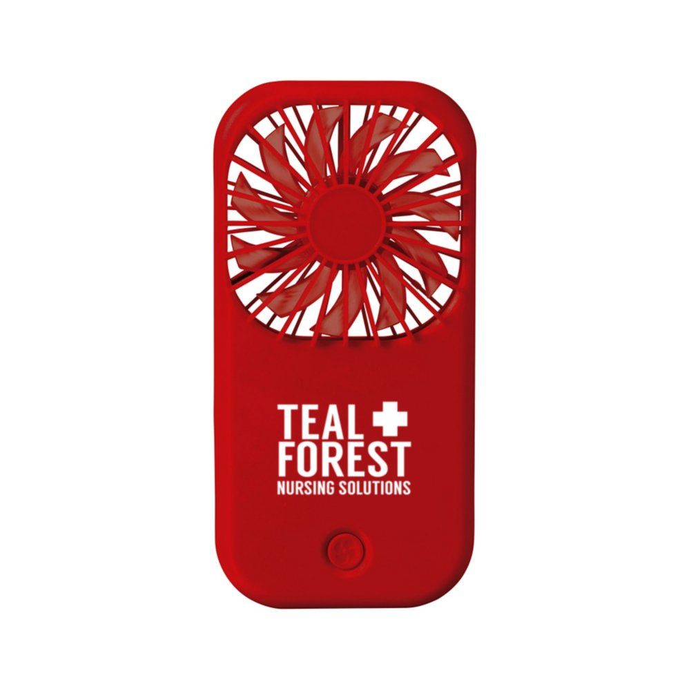 View larger image of Add Your Logo:  Hot-Stuff Foldable Desk Fan
