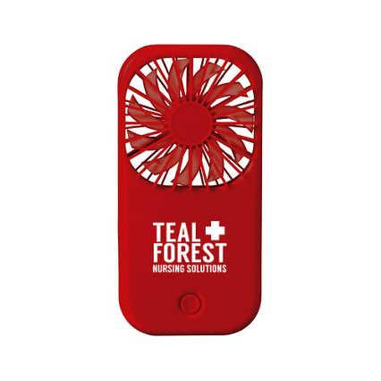 Add Your Logo:  Hot-Stuff Foldable Desk Fan