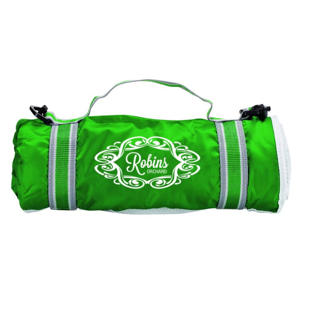 View larger image of Add Your Logo:  Park-It Picnic Blanket