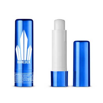 Add Your Logo:  Metal-Lip Vanilla Balm