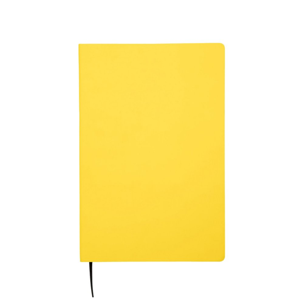 View larger image of Add Your Logo:  Side Stitch Leatherette Jotter