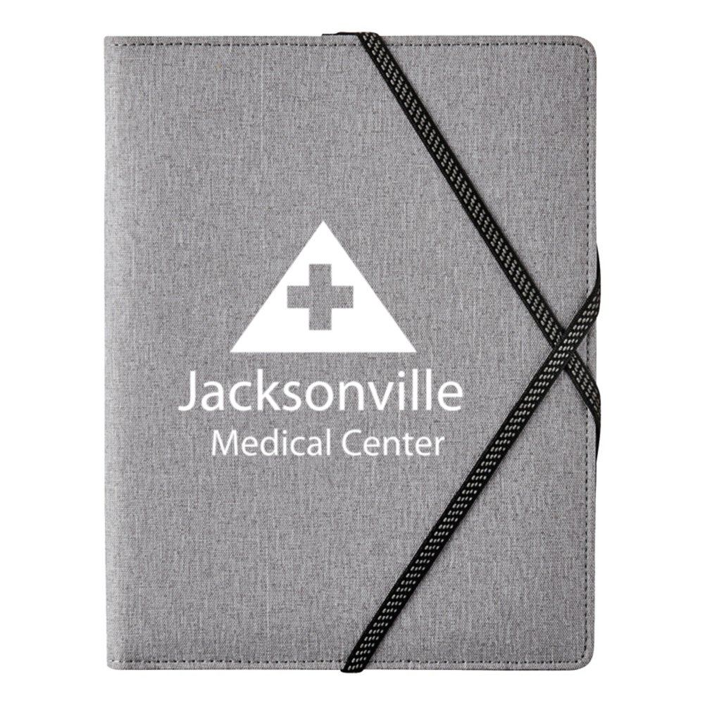View larger image of Add Your Logo:  James Writing Padfolio