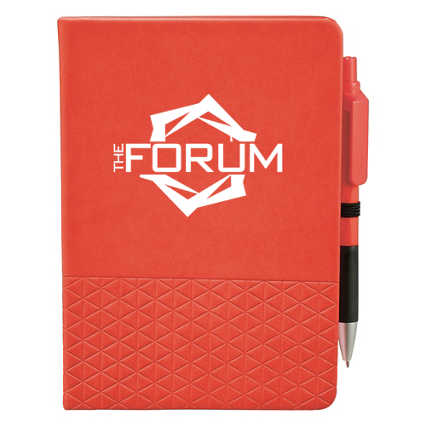 Add Your Logo:  Let's Geo Journal & Pen Set