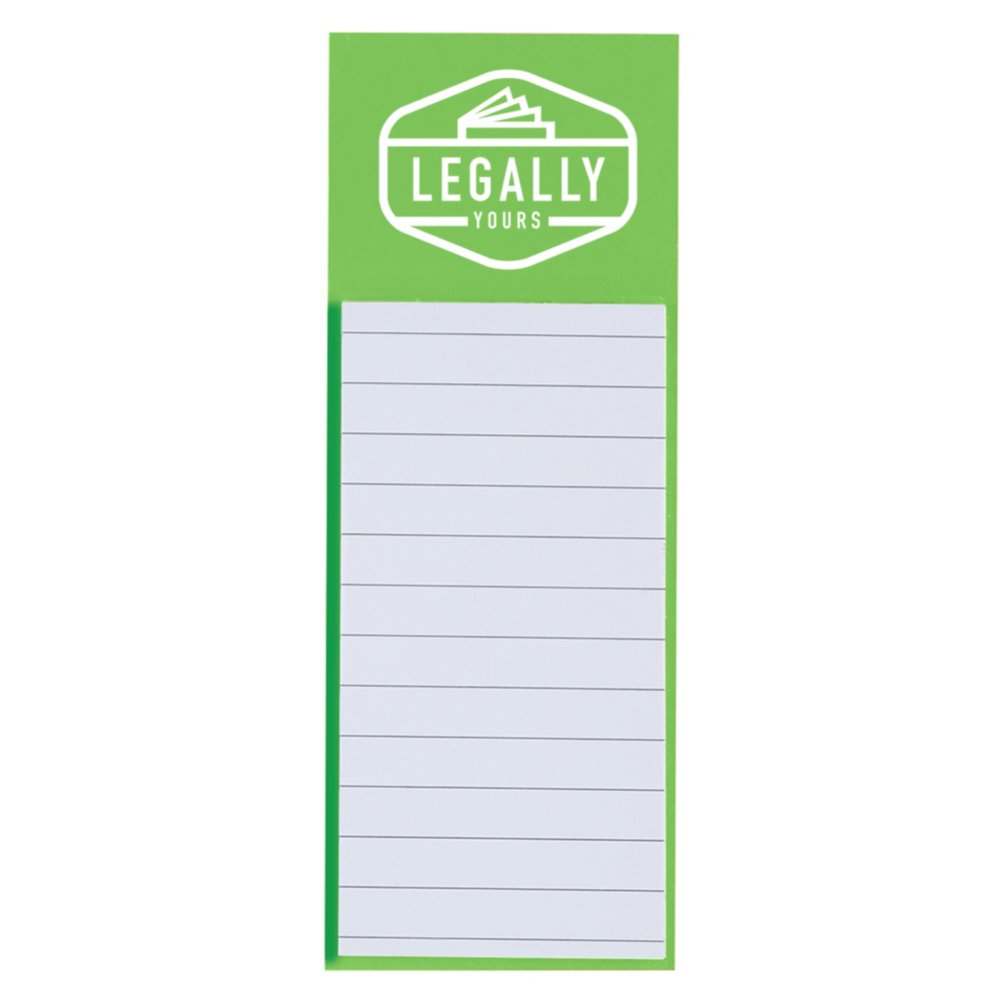 View larger image of Add Your Logo:  Magnetic Note Pad