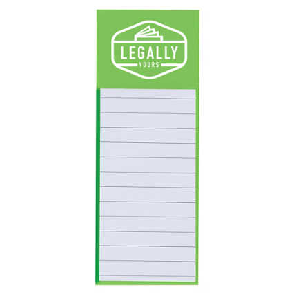 Add Your Logo:  Magnetic Note Pad