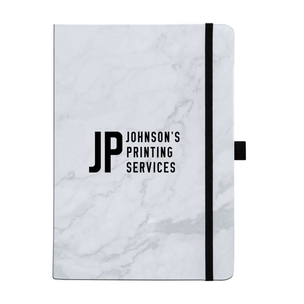 View larger image of Add Your Logo:  Marvelous Marble Journal