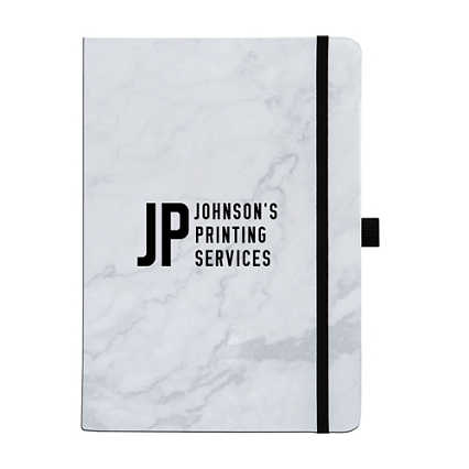 Add Your Logo:  Marvelous Marble Journal