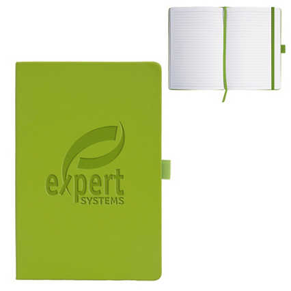 Add Your Logo:  Color Pop Hardcover Journal