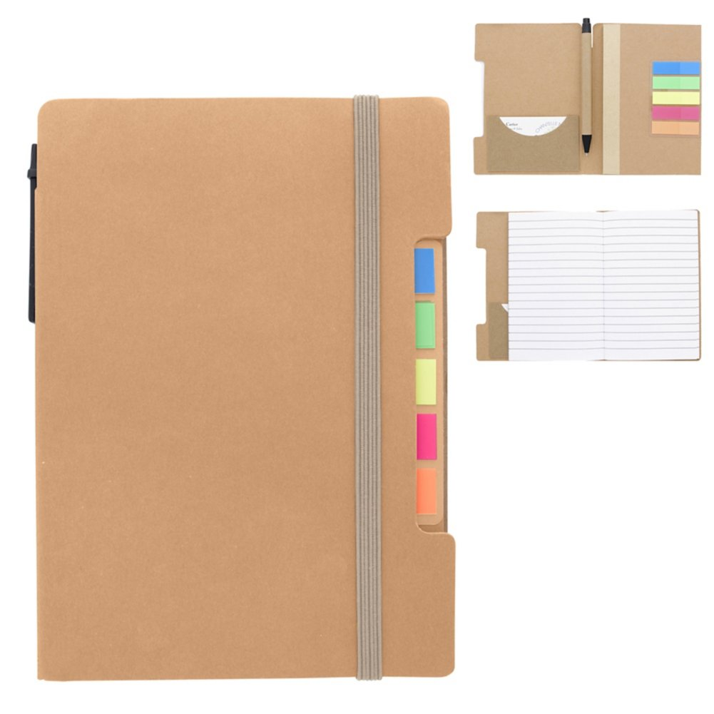 View larger image of Add Your Logo:  Meeting Buddy Journal & Gift Set
