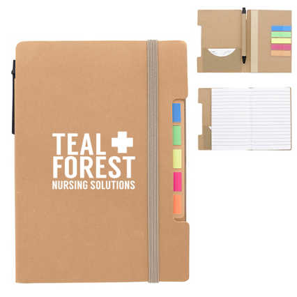 Add Your Logo:  Meeting Buddy Journal & Gift Set