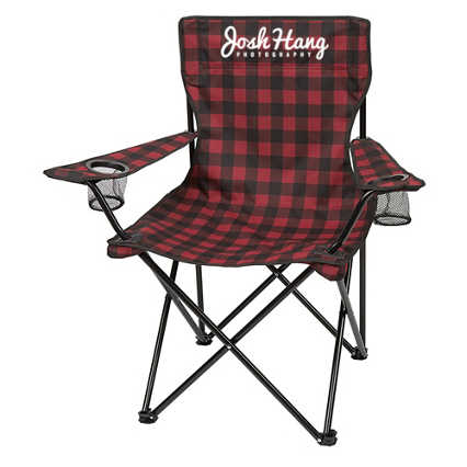 Add Your Logo:  Into The Woods Folding Camp Chair