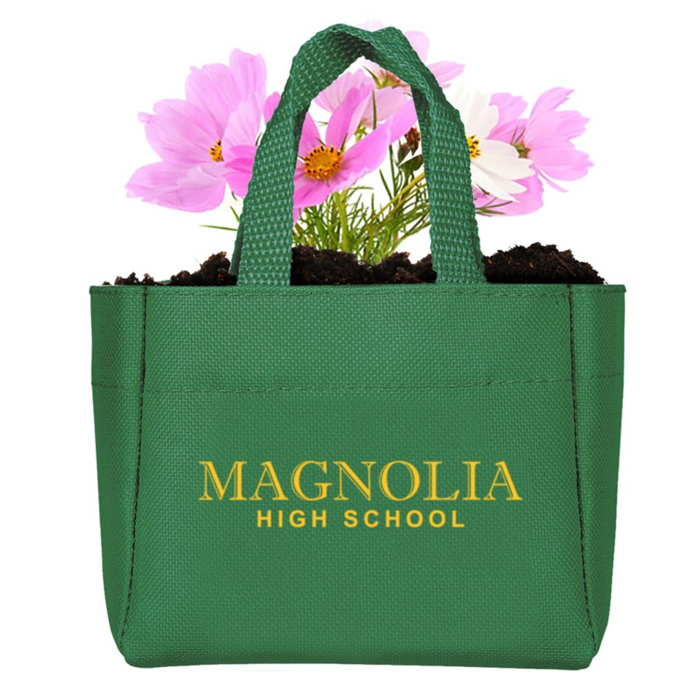 View larger image of Add Your Logo:  Sprout It Out Tote Plant Set