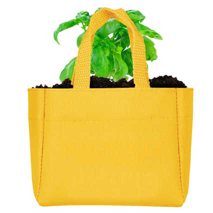 Add Your Logo:  Sprout It Out Tote Plant Set