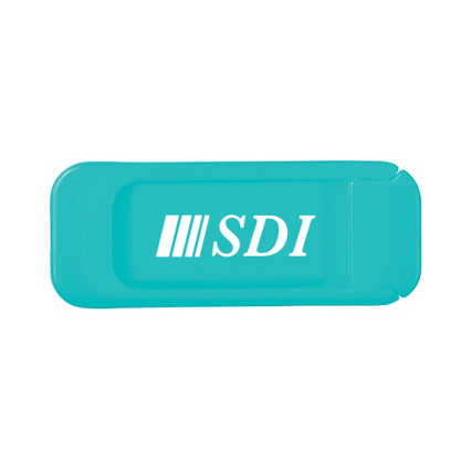 Add Your Logo:  Slide Over Camera Cover