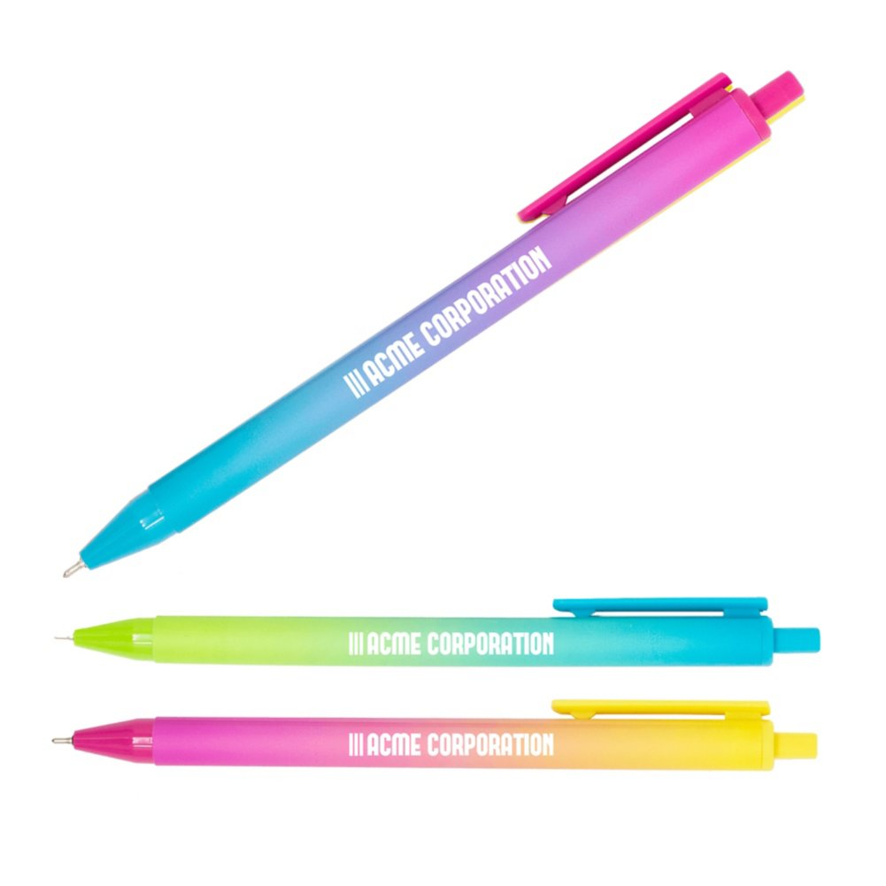 View larger image of Add Your Logo:  Ombre Color Pop Pens