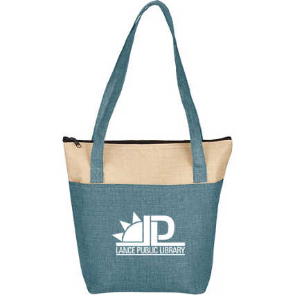 Add Your Logo: Naturally Cool Canvas Lunch Cooler