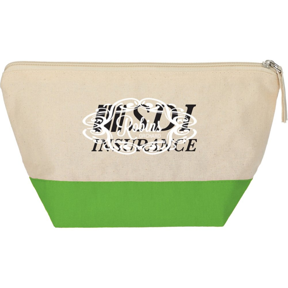 View larger image of Add Your Logo:  Color Block Travel Pouch