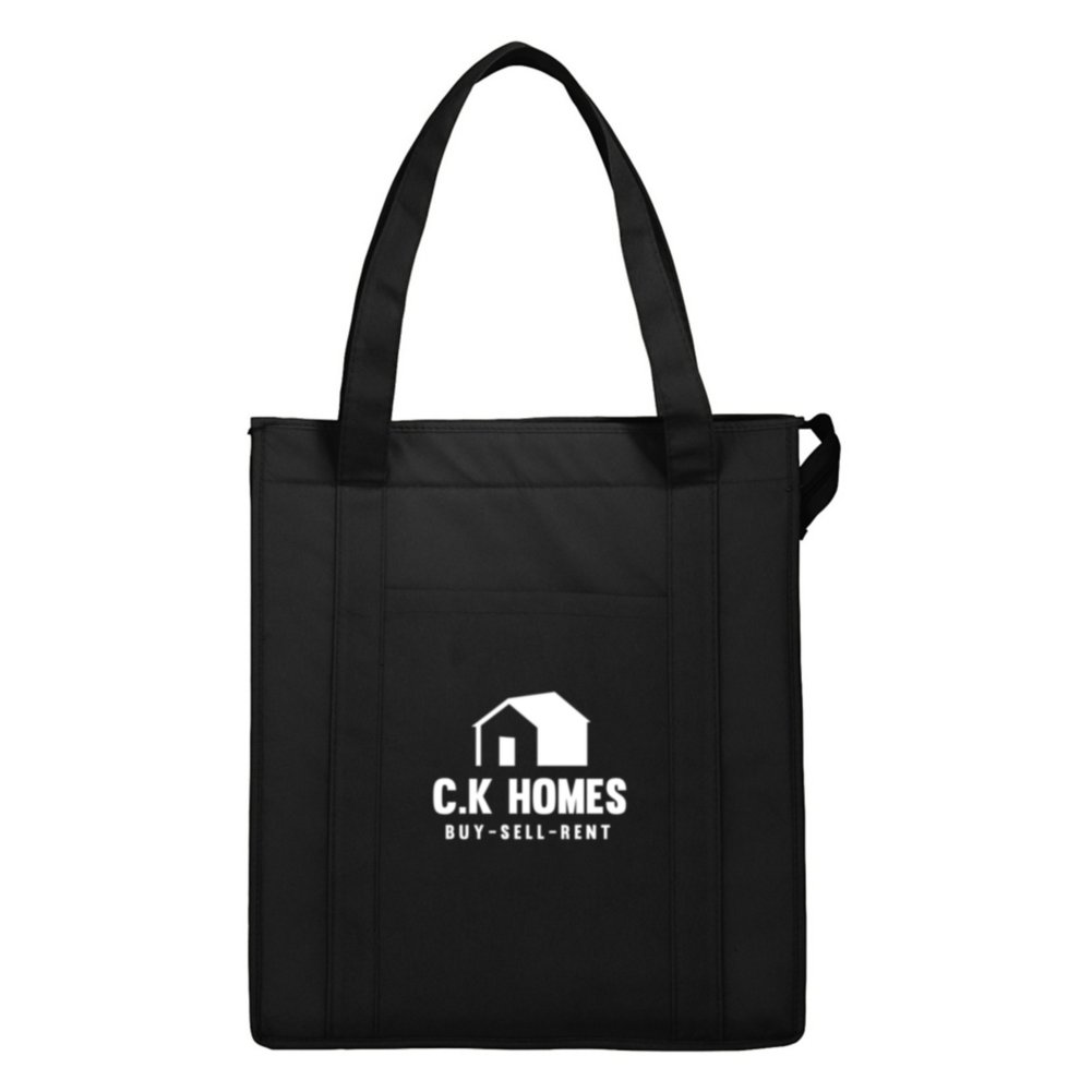 View larger image of Add Your Logo:  Hercules Insulated Tote