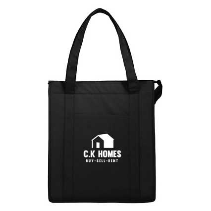 Add Your Logo:  Hercules Insulated Tote