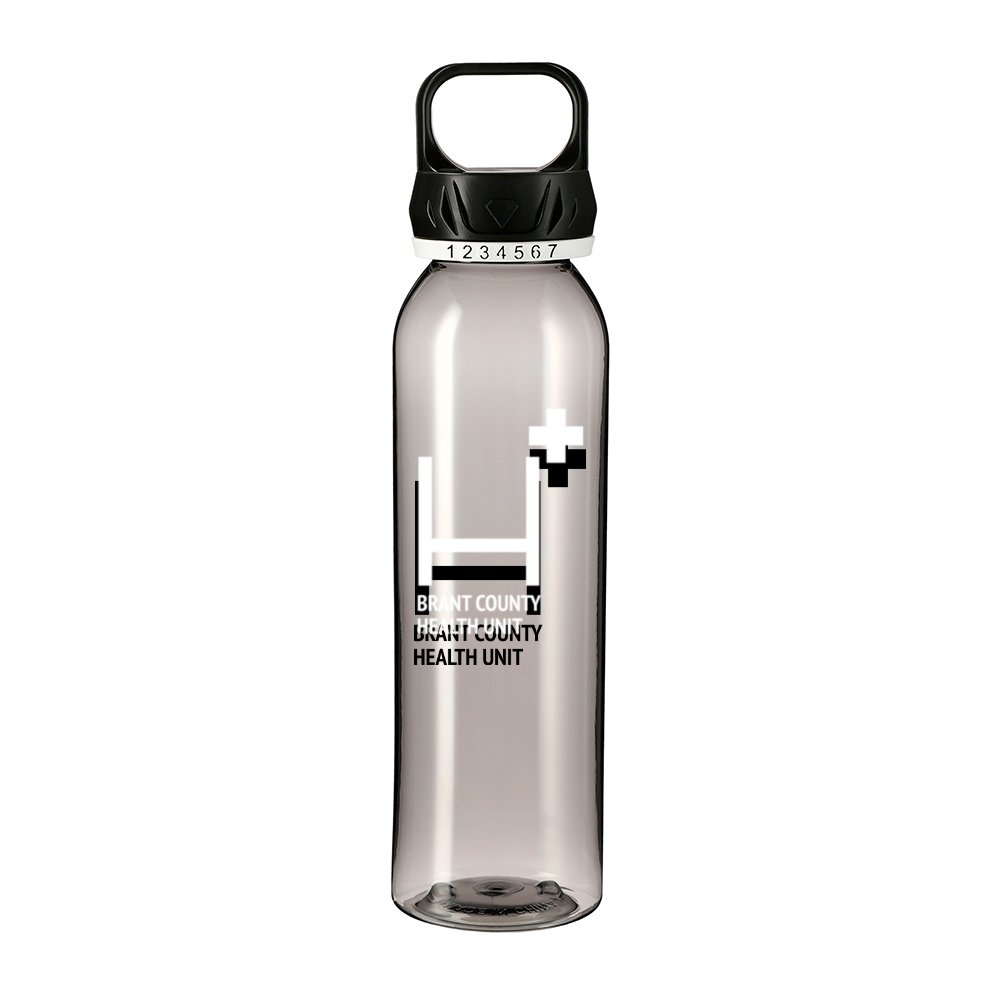View larger image of Add Your Logo: Count On It 22 oz Sports Bottle