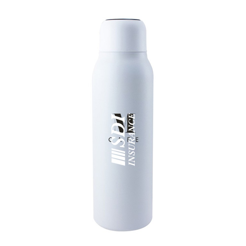 View larger image of Add Your Logo: Zero G Self-Cleaning Bottle