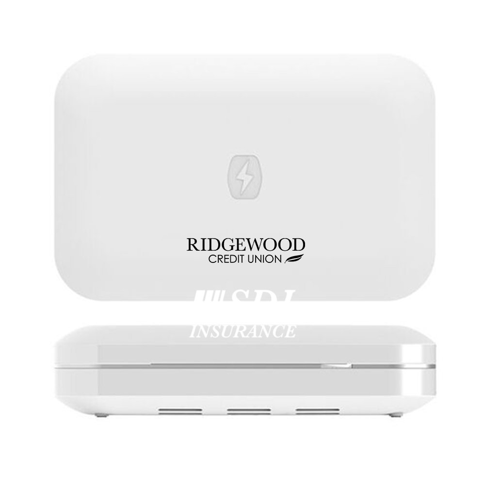 View larger image of Add Your Logo: PhoneSoap 3.0 UV Sanitizer + Charger