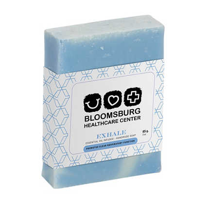 Add Your Logo: 3 oz Essential Oil Infused Bar Soap