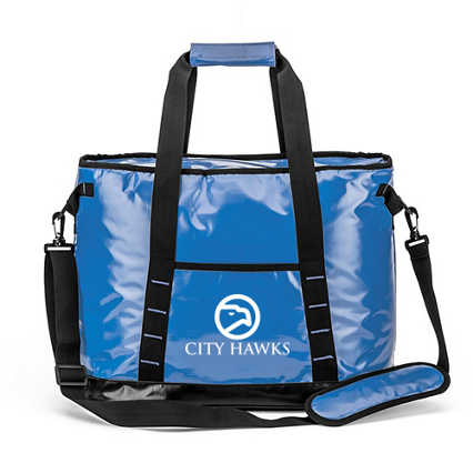 Add Your Logo:  Ready for Adventure Waterproof Tote