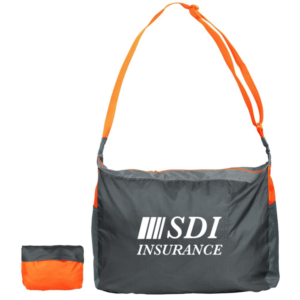 View larger image of Add Your Logo:  Essential Satchel