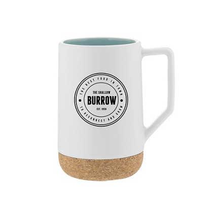Add Your Logo:  Coaster Through Life Mug