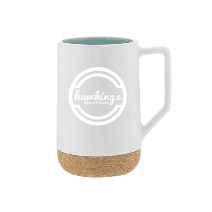 Add Your Logo:  Coaster Through Life Mug