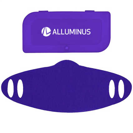 Add Your Logo: Fabric Mask + Carry Case