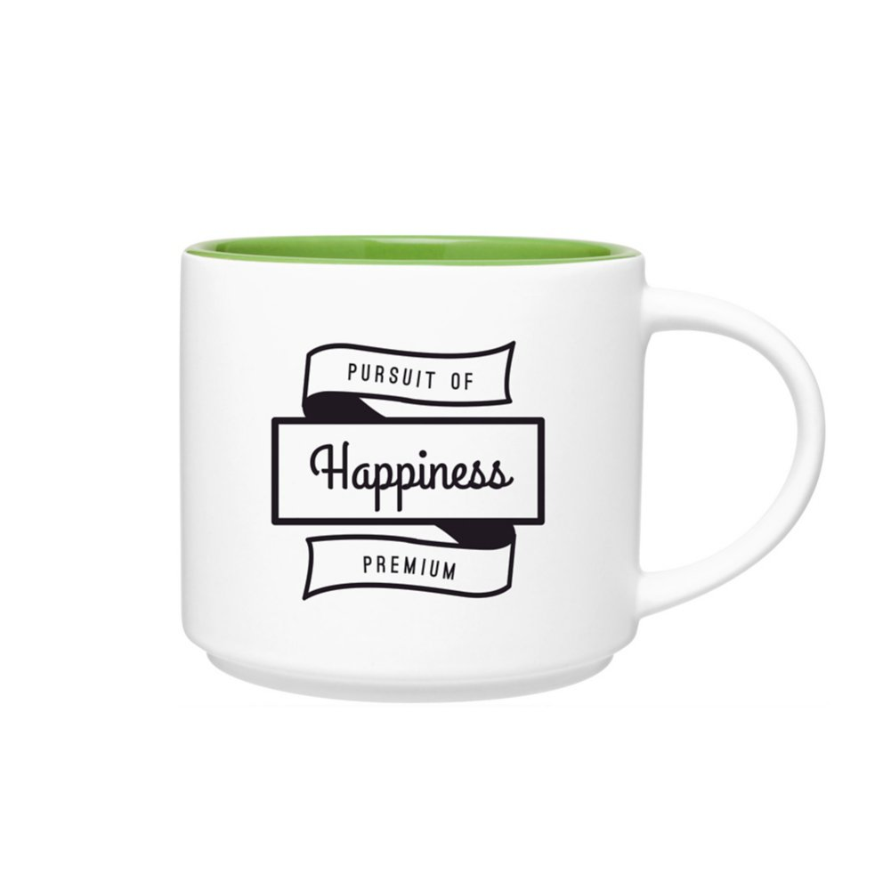 View larger image of Add Your Logo: Two Tone Tango Mug - White