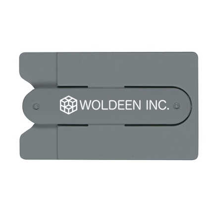 Add Your Logo: Phone Stand and Wallet