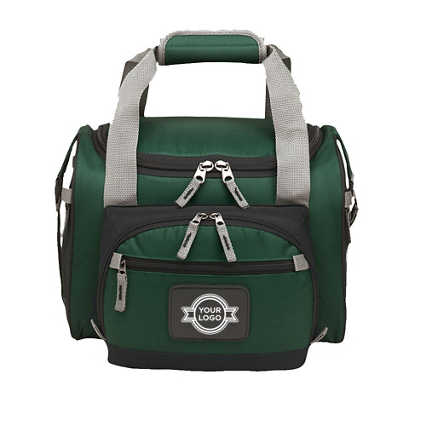Add Your Logo: Duffle & Cooler Bag Duo
