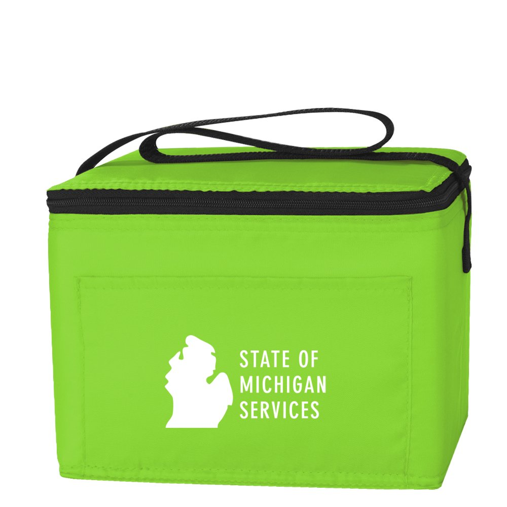 View larger image of Add Your Logo: Budget Lunch Bag