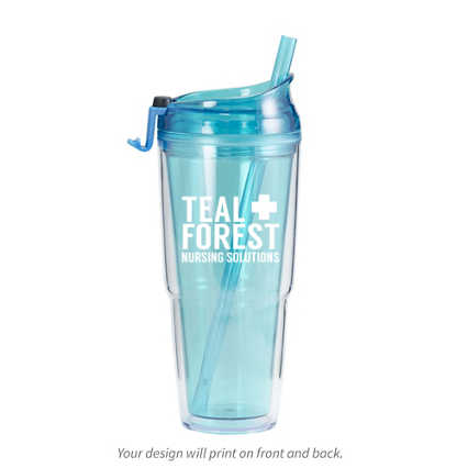 Add Your Logo: Value Color Tumbler
