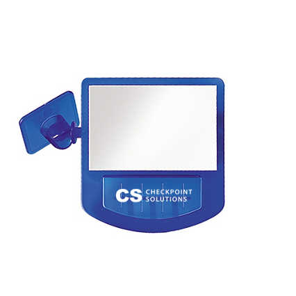Add Your Logo: Computer Mirror Memo Holder