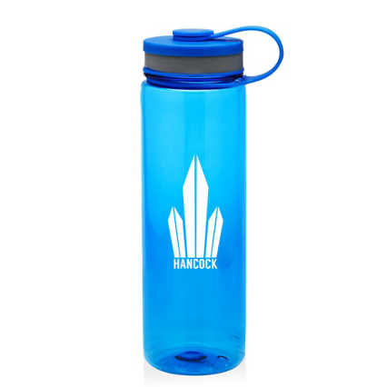 Add Your Logo: Tall Wide-Mouth Wellness Water Bottle
