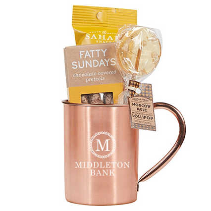 Add Your Logo:  Moscow Mule Gift Set