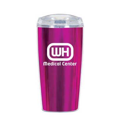 Add Your Logo:  Shine Bright Double Wall Tumbler