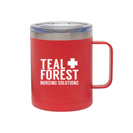 Add Your Logo:  Morning Drive Insulated Mug