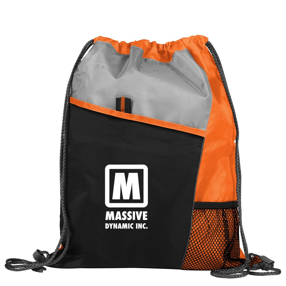 View larger image of Add Your Logo: Active Drawstring Backpack