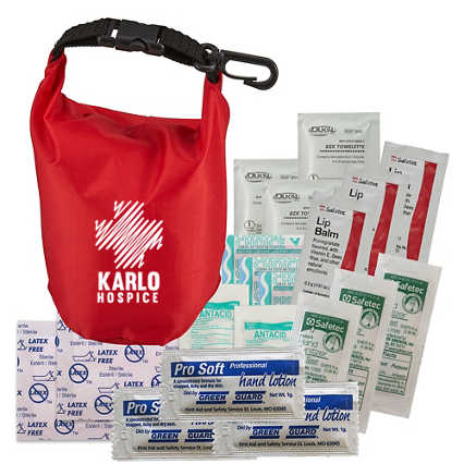 Add Your Logo: Caringhands® Essentials Emergency Kit